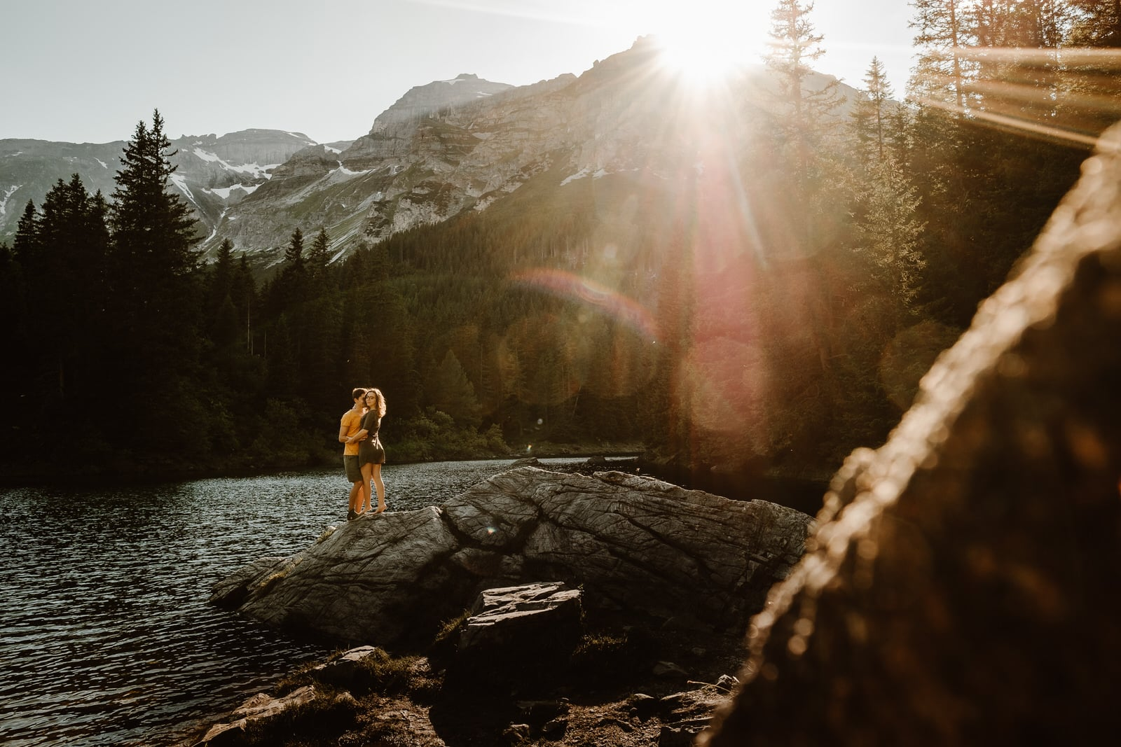 An adventure engagement session in the Austrian Alps by Wild Connections Photography