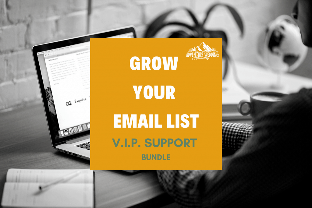 Grow Your Email List VIP Support