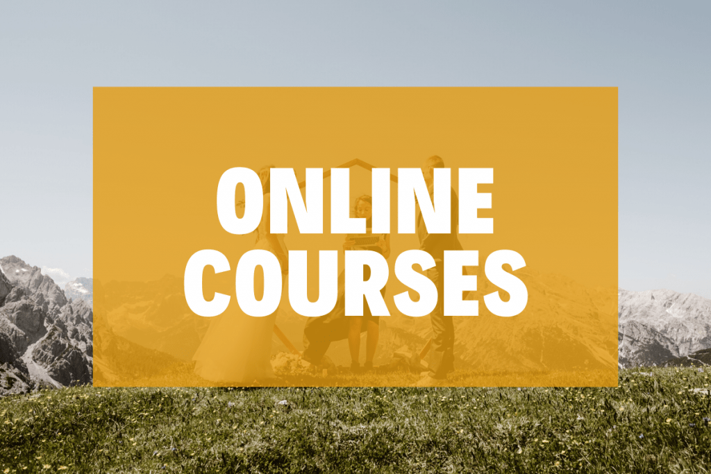 Online courses for wedding photographers
