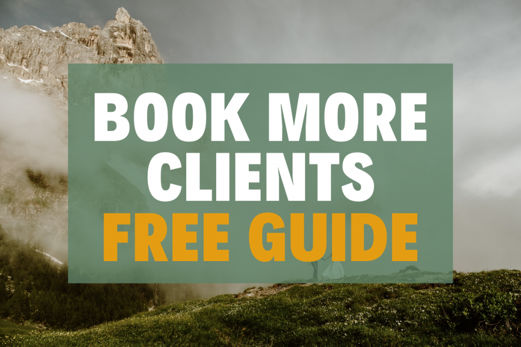 Book more clients free guide