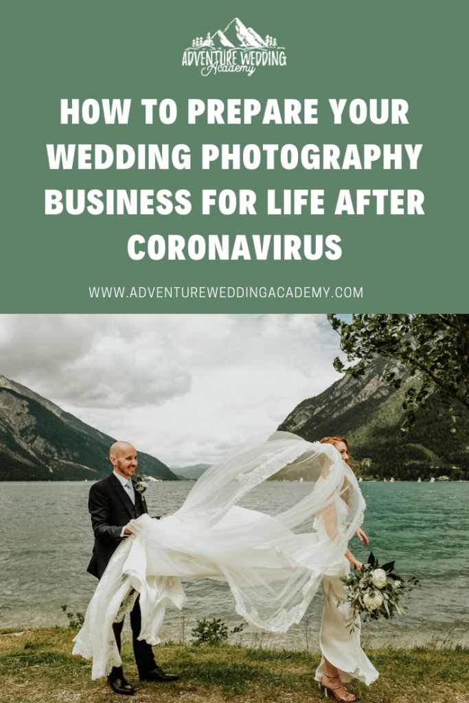 how to prepare your wedding photography business for life after coronavirus